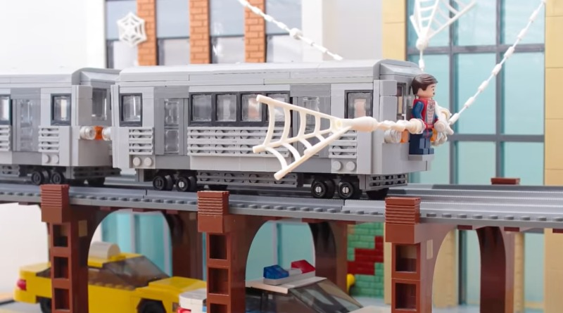 LEGO Spiderman 2 Recreation