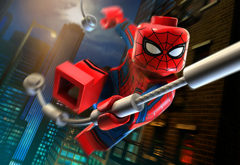 LEGO Spiderman Render