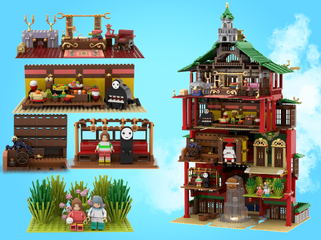 LEGO Spirited Away 2 1024x768