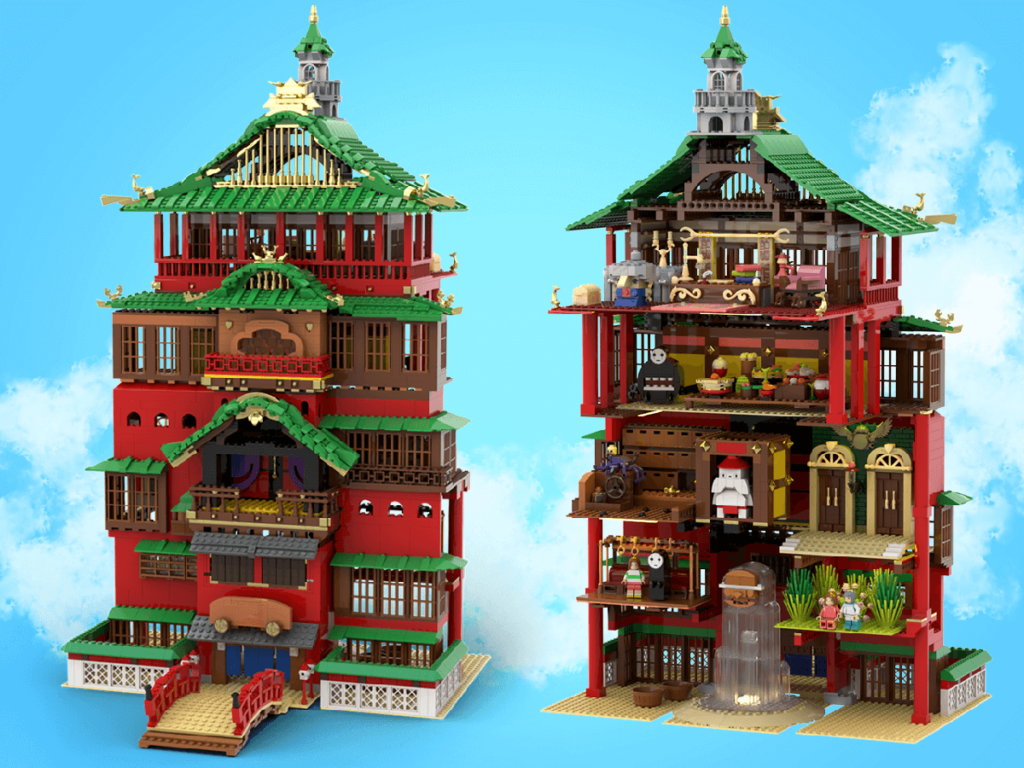 LEGO Spirited Away 3 1024x768
