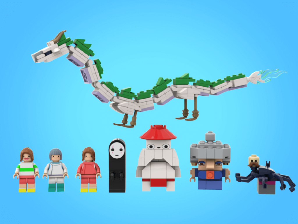 LEGO Spirited Away 4
