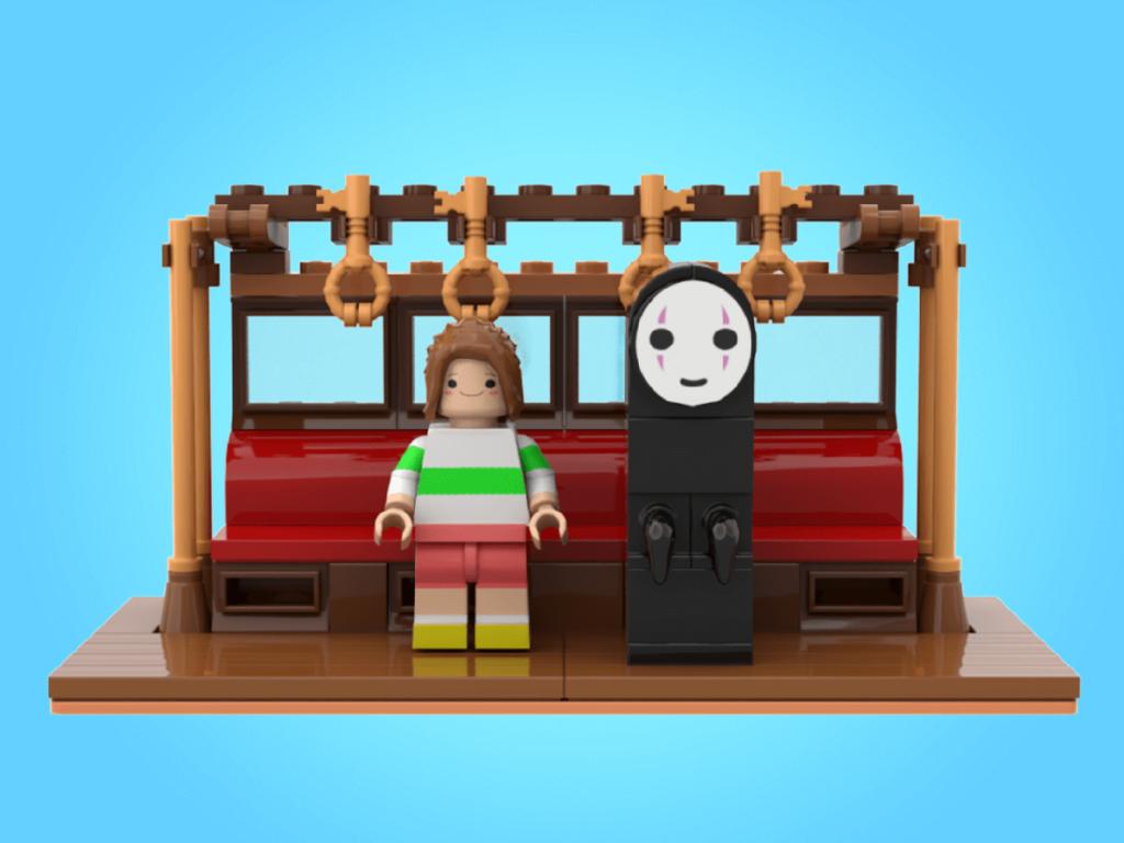 LEGO Spirited Away 5