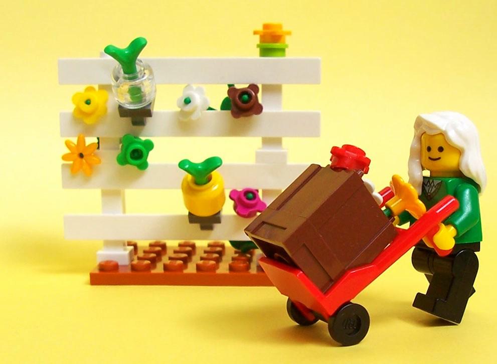 LEGO Spring Gardening