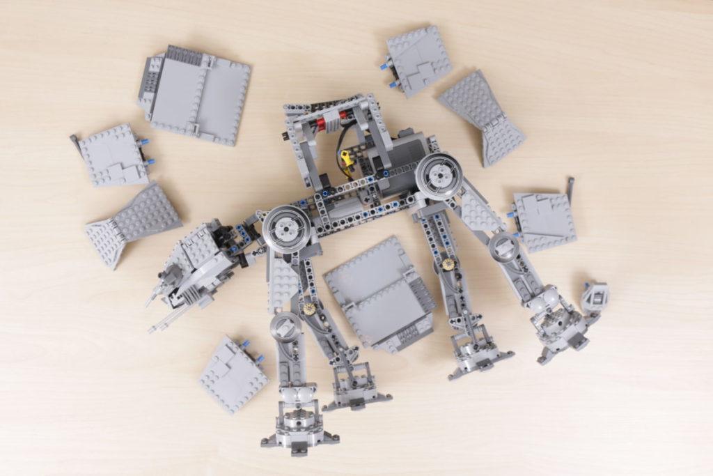 LEGO Star Wars 10178 Motorized Walking AT AT review 21