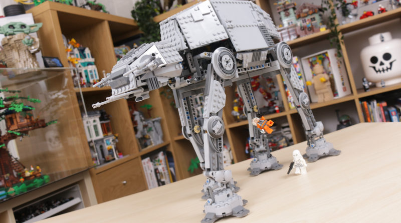 LEGO Star Wars 10178 Motorized Walking AT AT review title