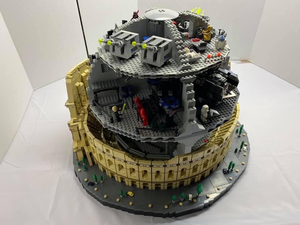 LEGO Star Wars 10188 Death Star 10276 Colosseum 1