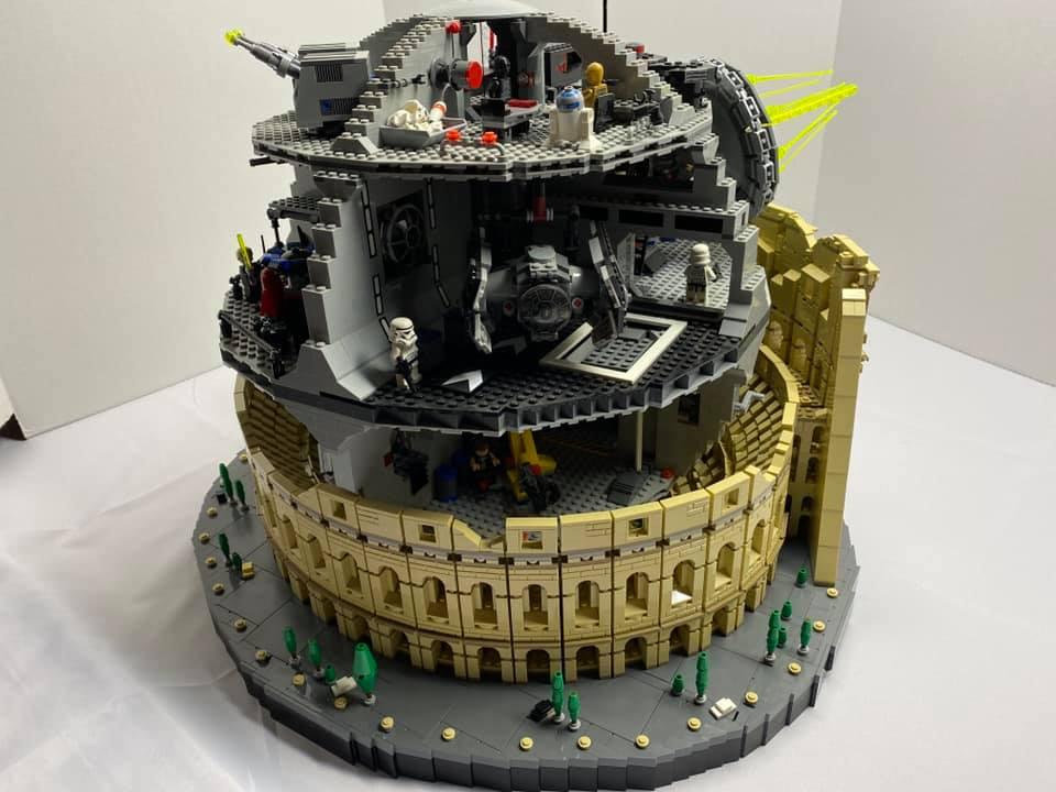 LEGO Star Wars 10188 Death Star 10276 Colosseum 2