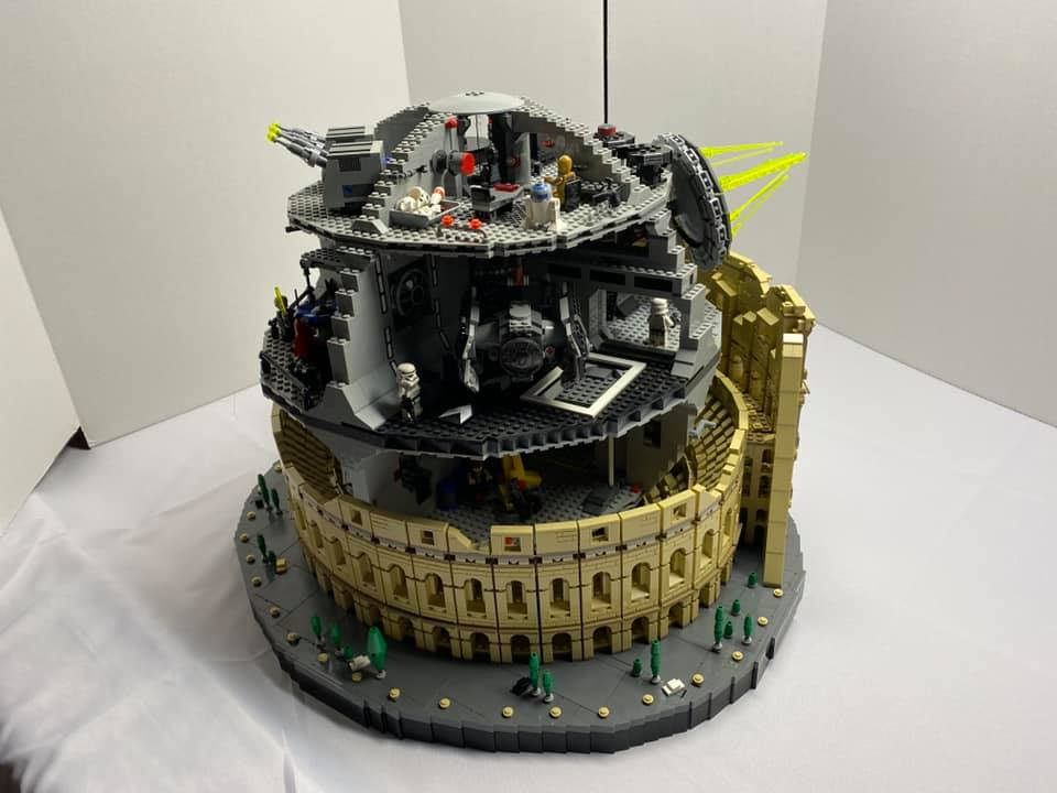 LEGO Star Wars 10188 Death Star 10276 Colosseum 3