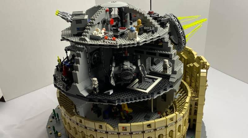 LEGO Star Wars 10188 Death Star 10276 Colosseum Featured
