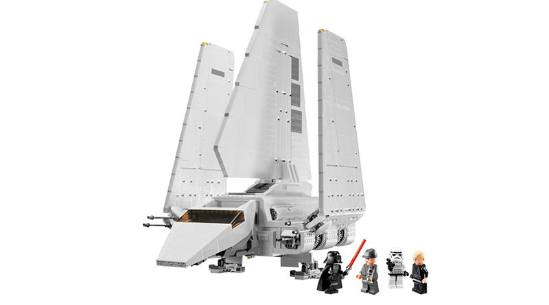 LEGO Star Wars 10212 Imperial Shuttle Featured 800x445