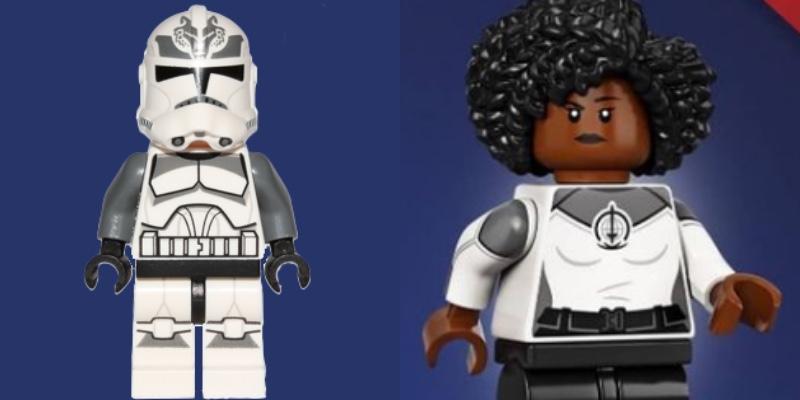 LEGO Star Wars 104th Battalion Clone Trooper 71031 Marvel Studios Monica Rambeau