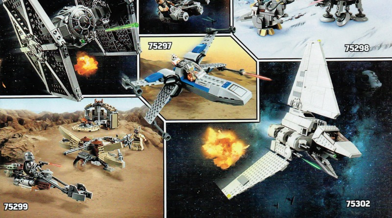 LEGO Star Wars 2021 Sets Spread Featured