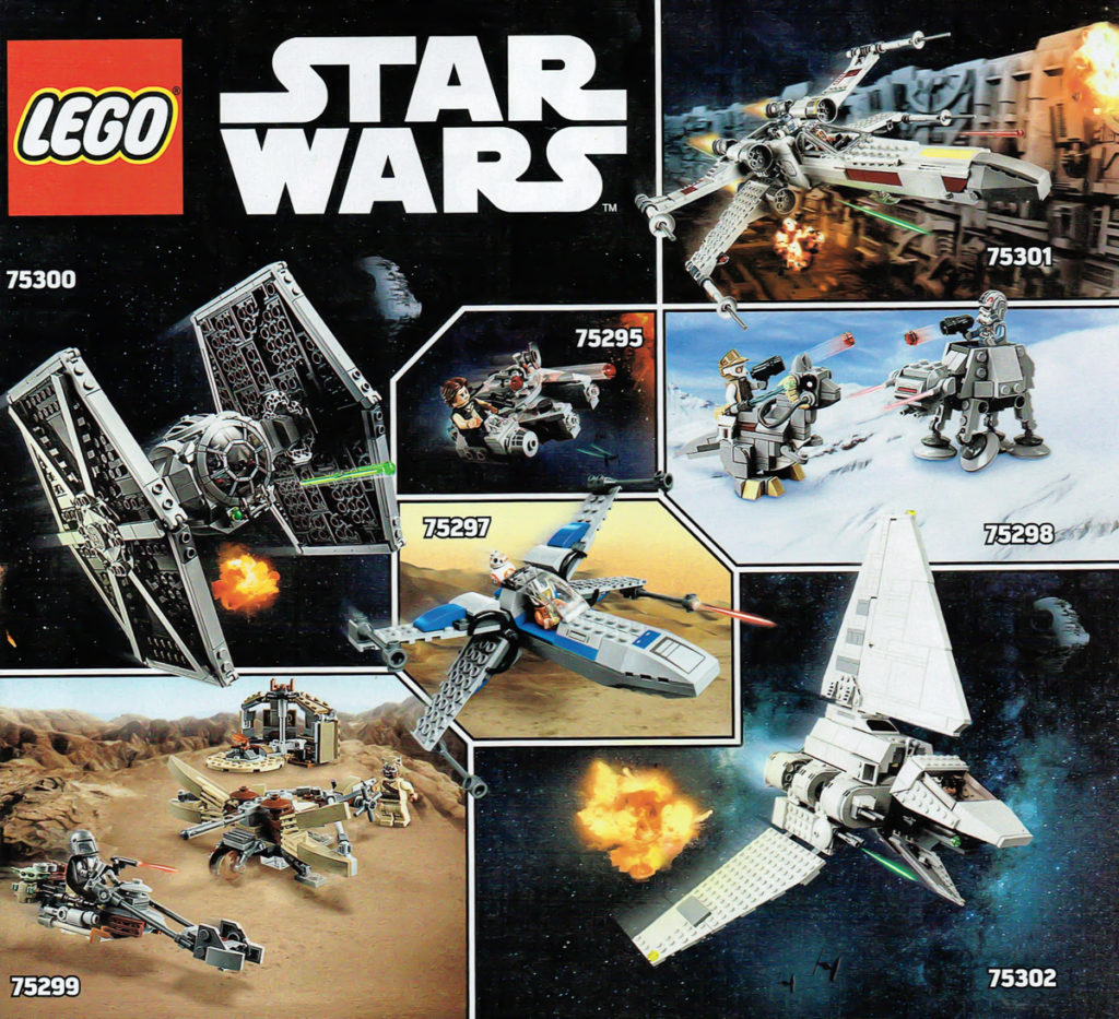 LEGO Star Wars 2021 Sets Spread