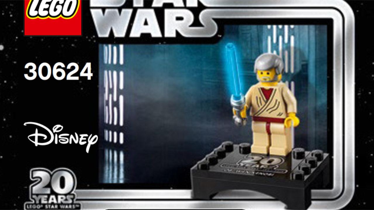 Lego 30624 Obi-Wan Kenobi Star Wars 20th anniversary minifigure new sealed