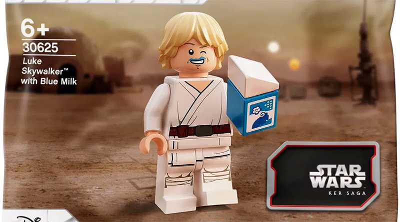 LEGO Star Wars 30625 Luke Skywalker Blue Milk Featured
