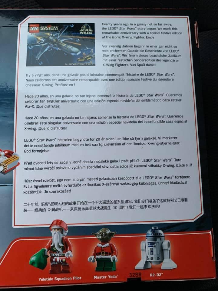 LEGO Star Wars 4002019 X Wing 5