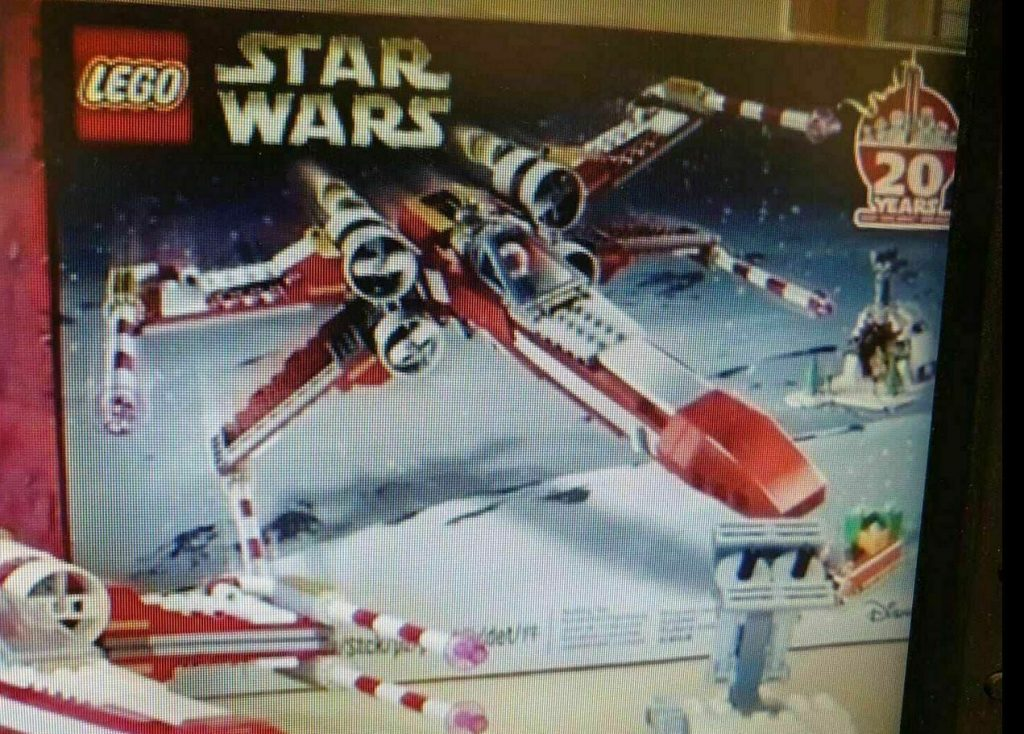 LEGO Star Wars Christmas employee gift