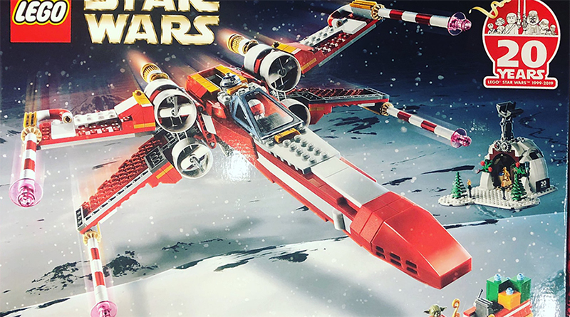 LEGO Star Wars Christmas X-wing