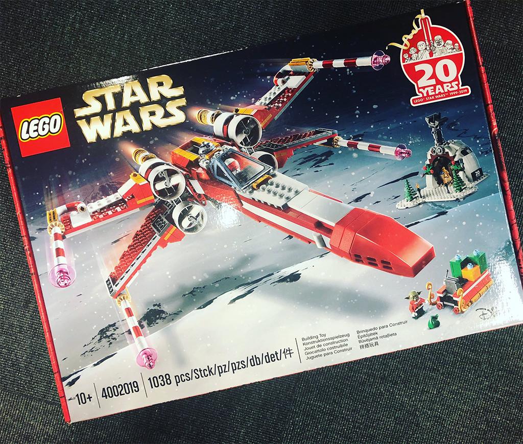 LEGO Star Wars 4002019 Xmas X Wing