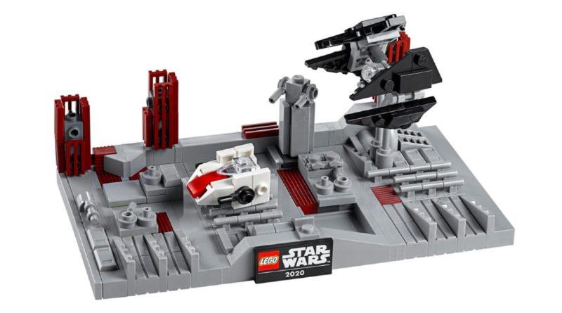 LEGO Star Wars 40407 Death Star II Battle contents featured