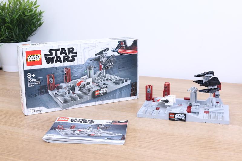 LEGO Star Wars 40407 Death Star II Battle review 7