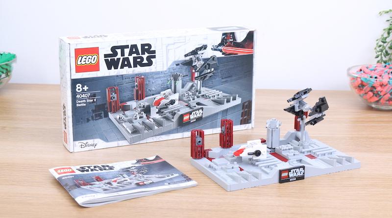 LEGO Star Wars 40407 Death Star II Battle Review Title