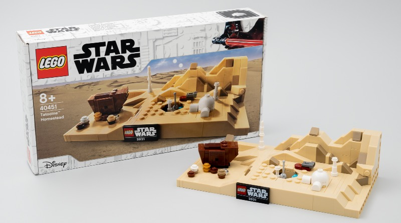 LEGO Star Wars 40451 Tatooine Homestead First Review Featured