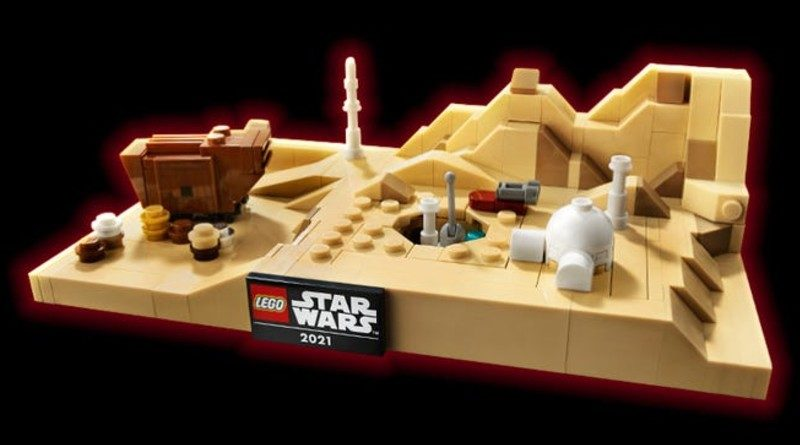 LEGO Star Wars 40451 Tatooine Homestead red outline featured