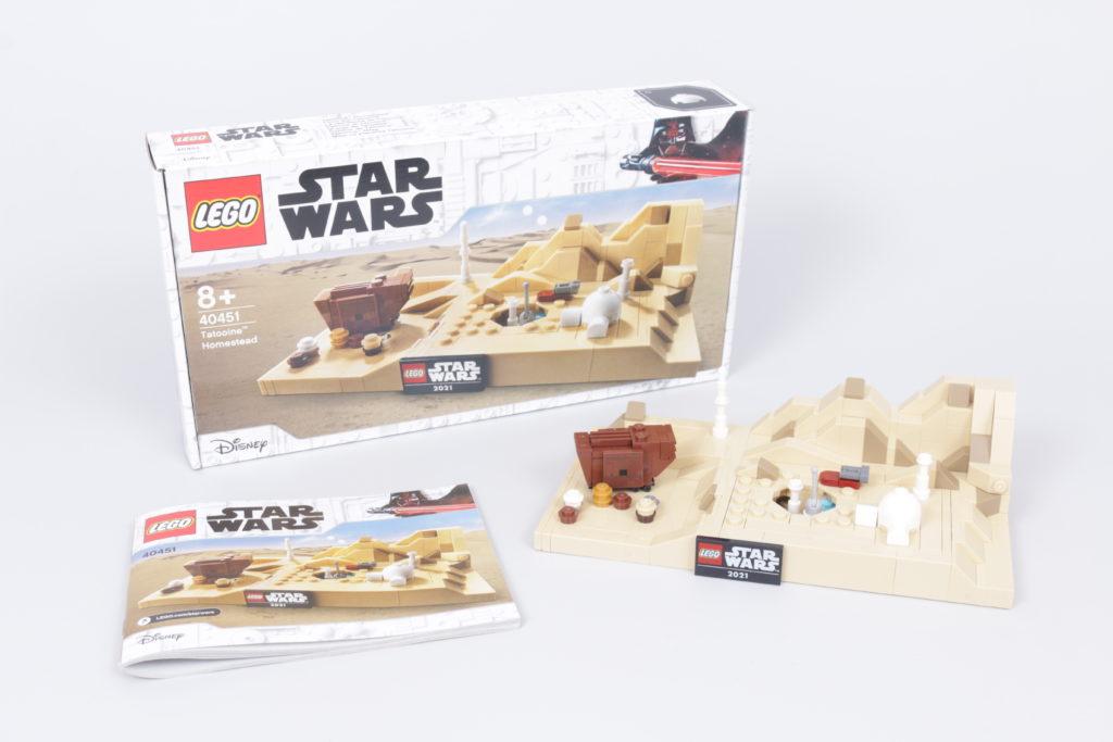 LEGO Star Wars 40451 Tatooine Homestead Review 3
