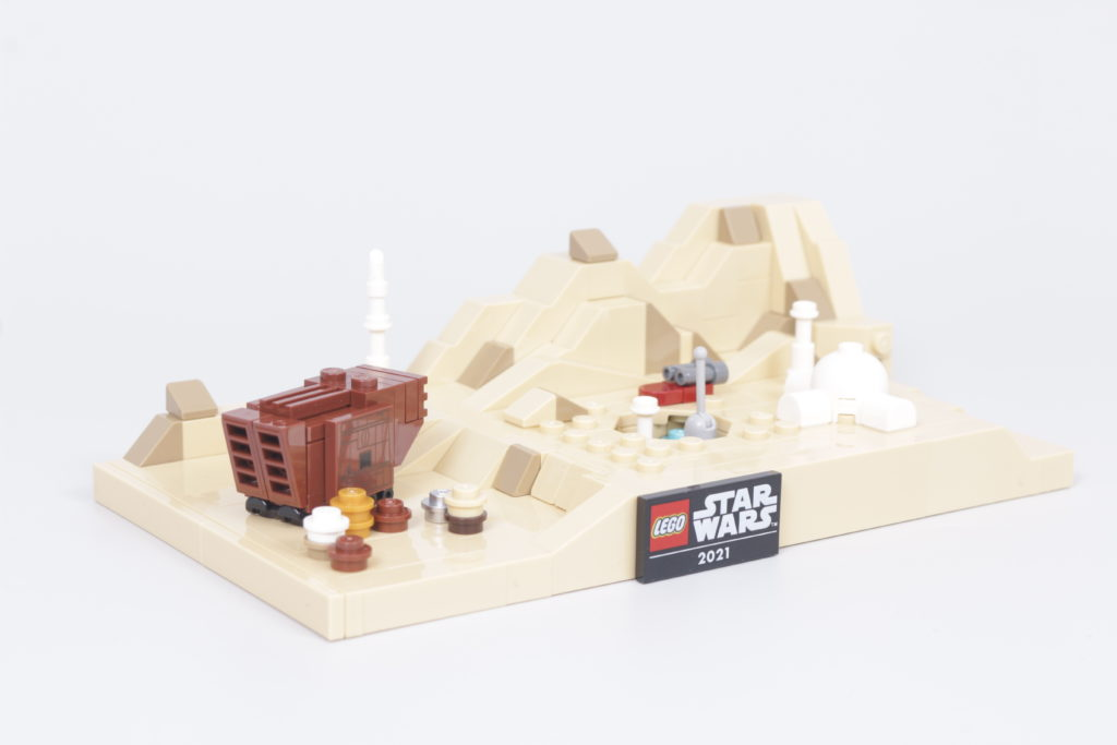 LEGO Star Wars 40451 Tatooine Homestead Review 5