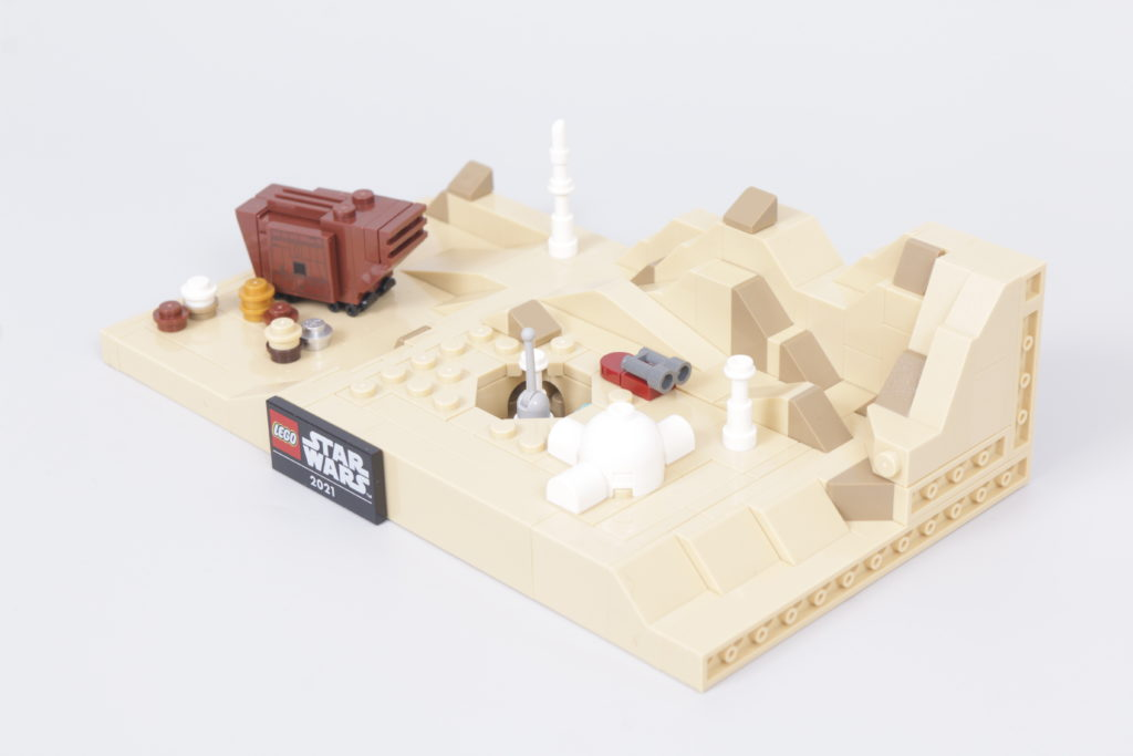 LEGO Star Wars 40451 Tatooine Homestead Review 6