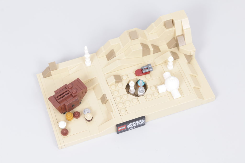 LEGO Star Wars 40451 Tatooine Homestead Review 7