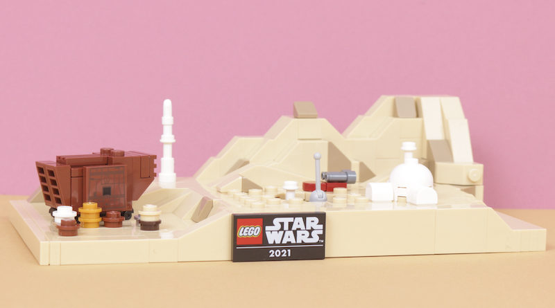 LEGO Star Wars 40451 Tatooine Homestead Review Title 800x445