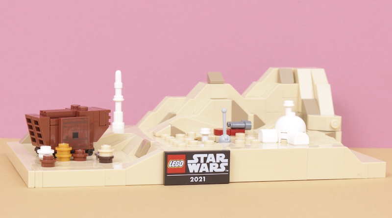 LEGO Star Wars 40451 Tatooine Homestead Review Title