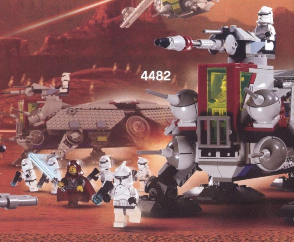 LEGO Star Wars 4482 AT TE Jedi Bob