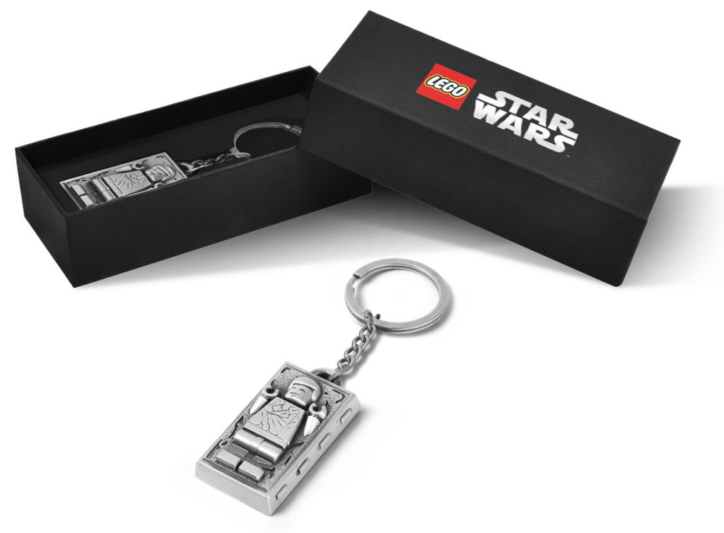 LEGO Star Wars 500363 Han Solo Carbonite Metal Keychain 1