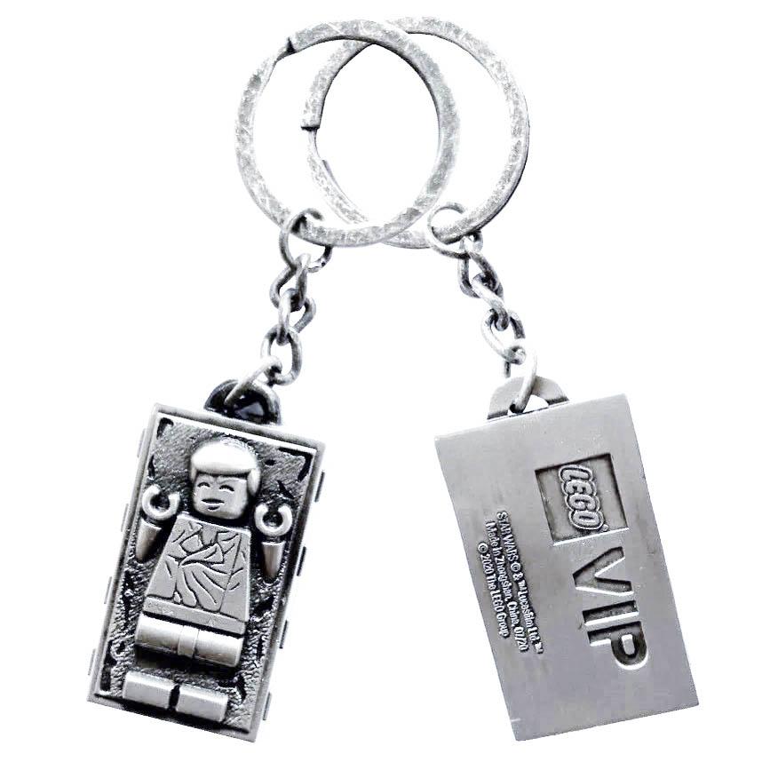 LEGO Star Wars 500363 Han Solo Carbonite Metal Keychain 3