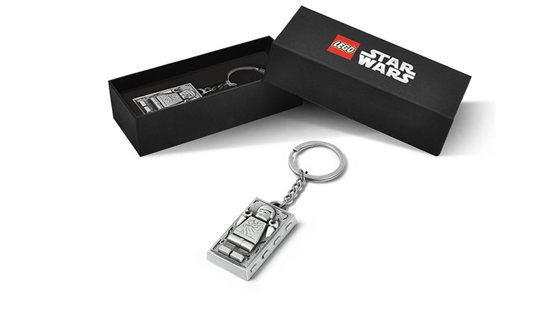 LEGO Star Wars 500363 Han Solo Carbonite Metal Keychain Featured 800x445