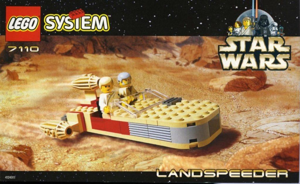 LEGO Star Wars 7110 Landspeeder 1