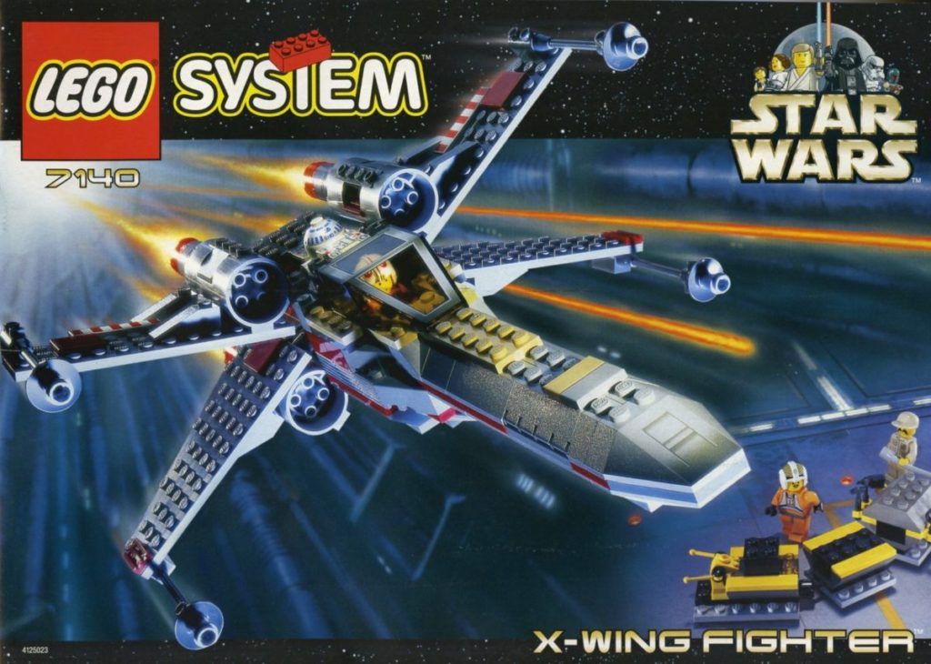 LEGO Star Wars 7140 X wing Fighter