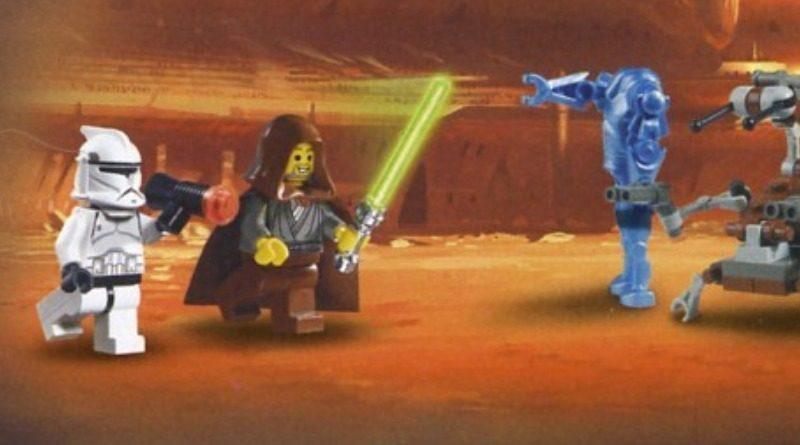 LEGO Star Wars 7163 Republic Gunship Jedi Bob featured