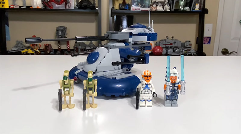 LEGO Star Wars 72583 Armoured Assault Tank AAT Video Featured 800x445