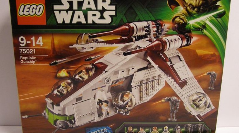 LEGO Star Wars 75021 Republic Gunship Catawiki Featured