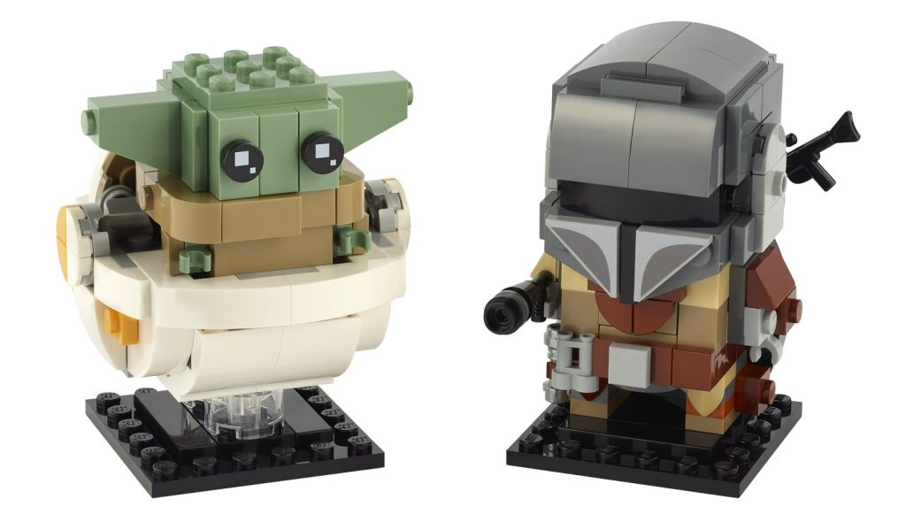 LEGO Star Wars 75137 BrickHeadz Mandalorian Baby Yoda