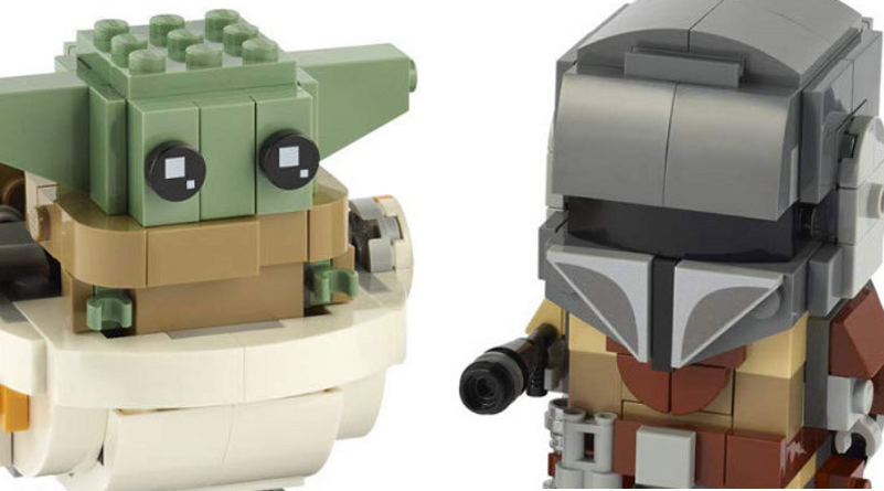 LEGO Star Wars 75137 BrickHeadz Mandalorian Baby Yoda Featured