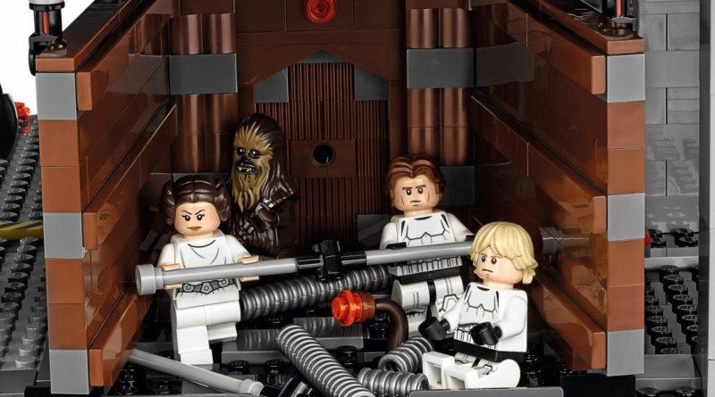 LEGO Star Wars 75159 Death Star garbage compactor featured
