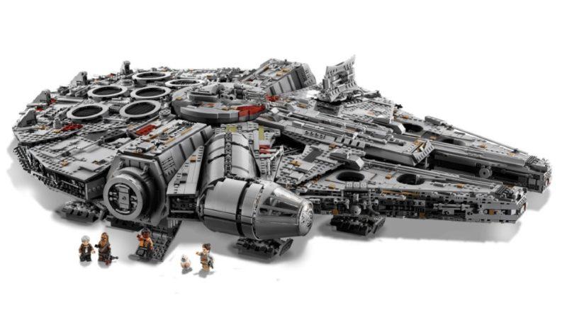 LEGO Star Wars 75192 Millennium Falcon box art no background featured