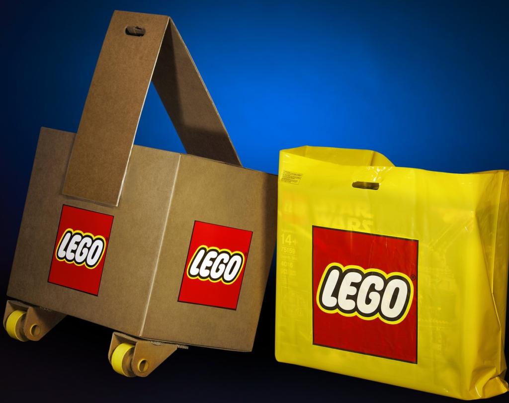 LEGO Star Wars 75192 Millennium Falcon box carrier