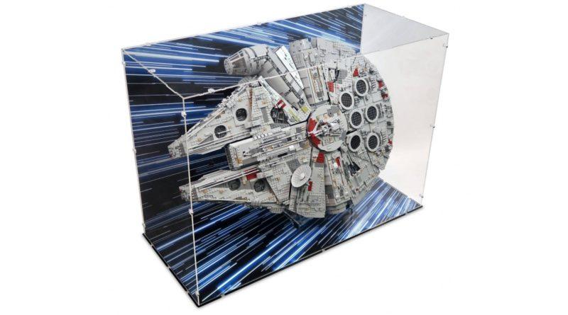LEGO Star Wars 75192 Millennium Falcon display case iDisplayit featured alt