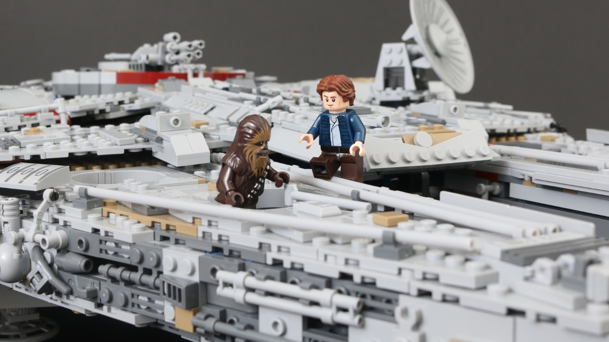LEGO Star Wars 75192 Millennium Falcon stock comes out of hyperspace